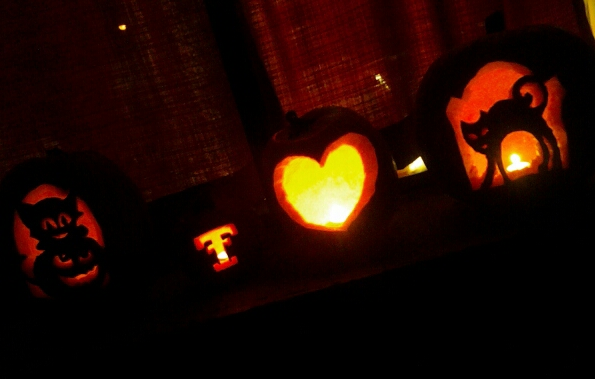 Heart Pumpkin Carving And Carve Out a Heart Took