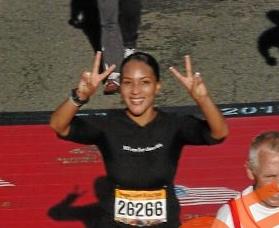 3:54 finish at the Marine Corps Marathon in 2011